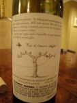The Back Label of Stonefly