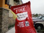 Amazing Taco Bell Fire Sauce Packet