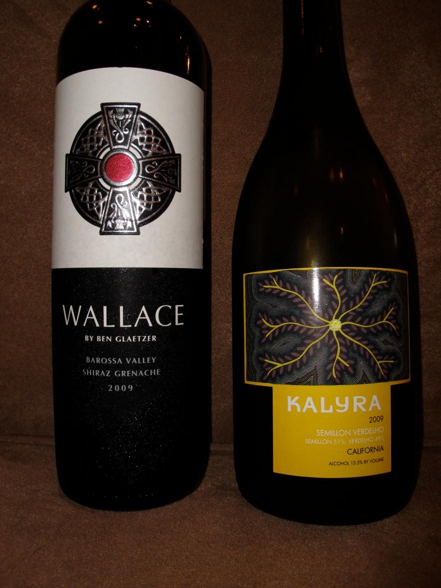 Ben Glaetzer's Wallace & Kalyra Semillon/Verdelho Blend