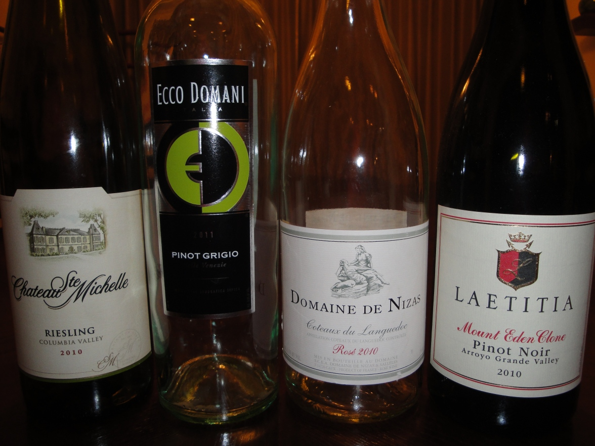 The 4 wines of the day