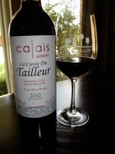 2010 Calais Tailleur Zinfandel/Sangiovese Blend