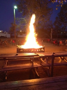 The Beautiful Bonfire at Railroad Blues