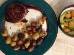Beef, Potatoes, w/Avocados & Tomatoes