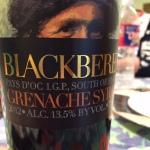 BlackBeret Grenache/Syrah Blend