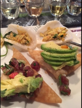 Tuna Tartare & Shrimp Curry at Malai